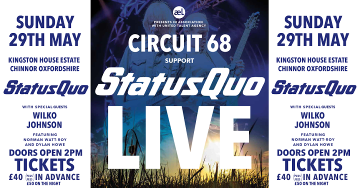 Circuit 68 support Status Quo
